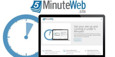 Build a website in just 5 minutes!