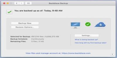 BackBlaze – Unlimited Backup for Creatives