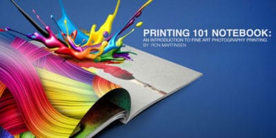 Printing 101 Notebook: Fine Art Photo Printing