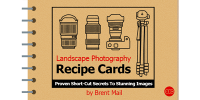 Landscape Photography Recipe Cards