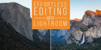 Effortless Editing With Lightroom