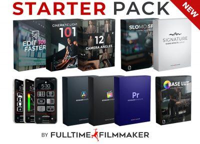 Full Time Filmmaker – Starter Pack